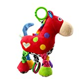 Cochecito de asiento de coche de juguete para nios Cama de beb Cuna Cuna colgador colgante musical colgante de juguete (burro)