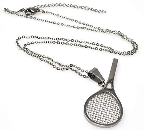 Tennis Badminton Anhänger Halskette Halskette Sport Armband Halskette