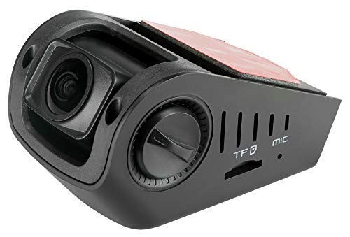 "A118-C 1080p HD Car Dash Camera with Capacitor G-Sensor 1.5"" HD Screen 170 Degree Wide Angle Lens Records at 60 FPS with Loop Recording"