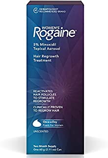 Women's Rogaine Hair Regrowth Treatment Foam, 2 Month Supply, 1 ea - 2pc