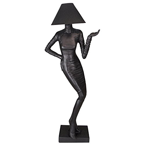 life sized lady floor lamp for sale
