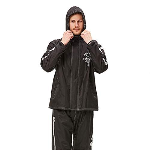 Z-leah waterdichte jas, regenjas, zichtbaar patroon 's nachts, bescherming veiligheid, draagtas, bespaart ruimte