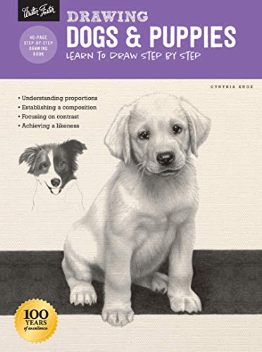 Drawing: Dogs & Puppies: Learn to draw step by step (How to Draw & Paint)