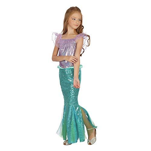Bristol Novelty Meerjungfrau-Kleid, für Mädchen, Grün / Violett