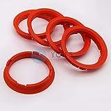 5 x ZENTRIERRINGE DISTANZRING für ALUFELGEN FZ25 74,1-66,6 mm CMS, DBV, Proline Wheels, Schmidt Revolution