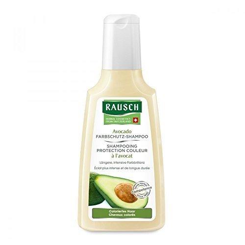 Rausch Avocado Farbschutz-Shampoo (coloriertem Haar verlängerten, intensiven Glanz, ohne Silikone und Parabene - Vegan), 1er Pack (1 x 200 ml)