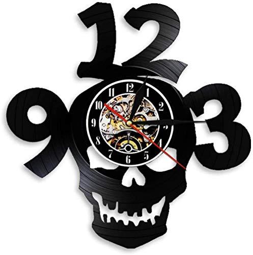 relojes con discos de vinilo de la marca Clockee