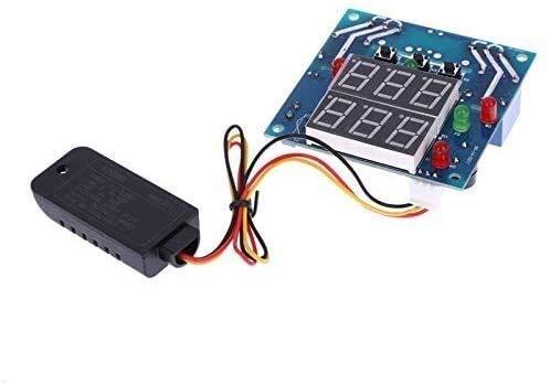 FORETTY DIANLU26 CA/DC 12V Temperatura Digital Controlador de Humedad Tablero Termostato Termostato Temperatura Capítulo Higrómetro Controlador Módulo Computadora Rendimiento Estable