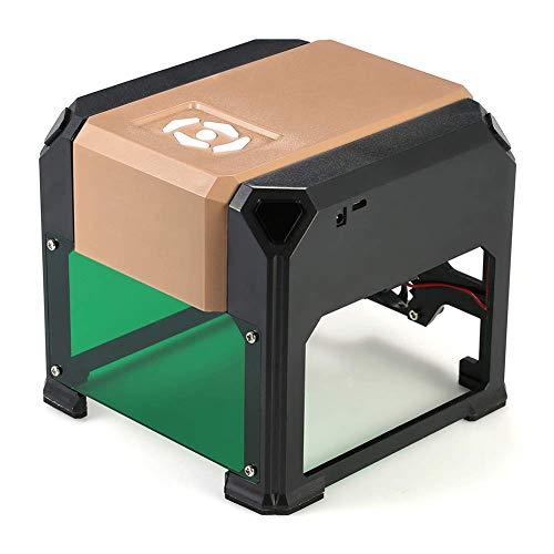 Laser Engraver, 3000MW Portable Laser Engraving Machine, Portable Laser Engraving Machine for Herramientas de Quema de Madera Art Craft Science
