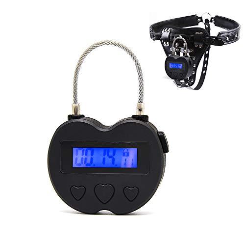 Sicherheits-Vorhängeschloss, elektronisches Timer, verhaltensbasierte Gewohnheitshilfe Mehrzweck-Spielschloss