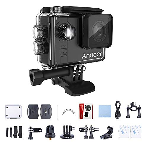 "Andoer Sport Kamera DV Cam AN7000 4K 1080P 120fps 720P 240fps Full HD Adopt für Ambarella A12S75 16MP WiFi Anti-shake Wasserdicht Tauchen Outdoor Camera 60m 2.0 ""LCD 166° Weitwinkelobjektiv"