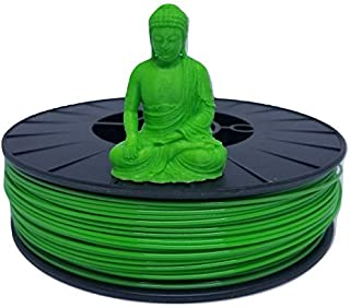 3D Galaxy 1.75 mm PLA Filament 750 g 3D Printer Roll (Green)