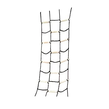 Swing-N-Slide WS 4481 Climbing Cargo Net for Kids Outdoor Play Sets Jungle Gyms SwingSets & Ninja Warrior Style Obstacle Courses  NE 4481-1