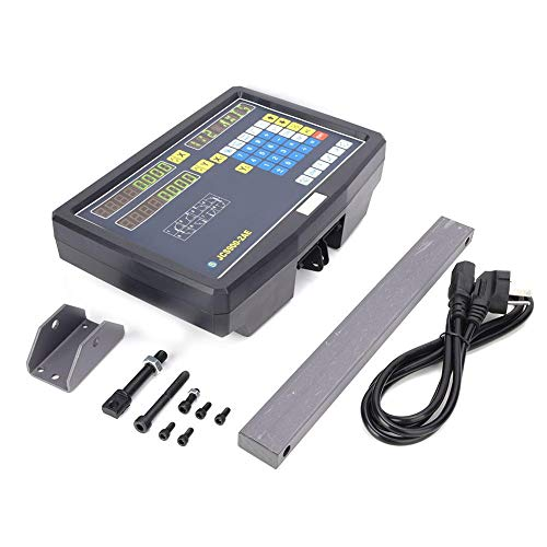 JCS900-2AE meetweegschaal, TTL-freesmachine-encoder-roostermeetsysteem voor freesmachines en draaimachines DC 5V 0~3020mm 110-240V EU Plug