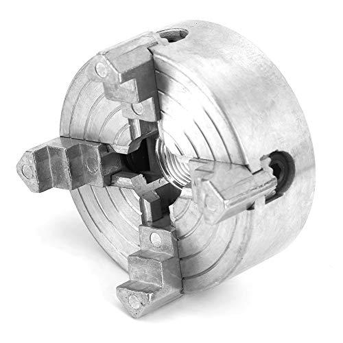 Backenfutter, selbstzentrierendes Spannfutter aus 4-Backen-Zinklegierung 0,5-2,6 Zoll und 0,1-2,2 Zoll Langlebiges Spannfutter-Zubehör für Mini-Metalldrehmaschine, Drehfutter