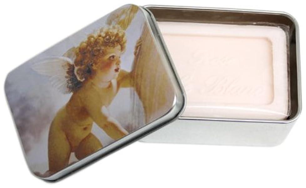 文明化息を切らしてレスリングルブランソープ メタルボックス(エンジェルA?ローズの香り)石鹸