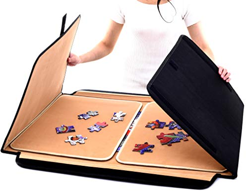 Jaques of London Deluxe Jigsaw Puzzle Board Portable Foldable - Jigsaw Board for 1000 pieces
