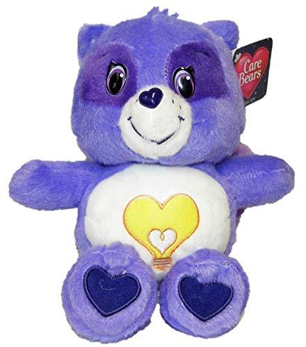 Care Bears Glücksbärchis Kuscheltiere für Kinder 22 cm (Waschbär Schlauherz)