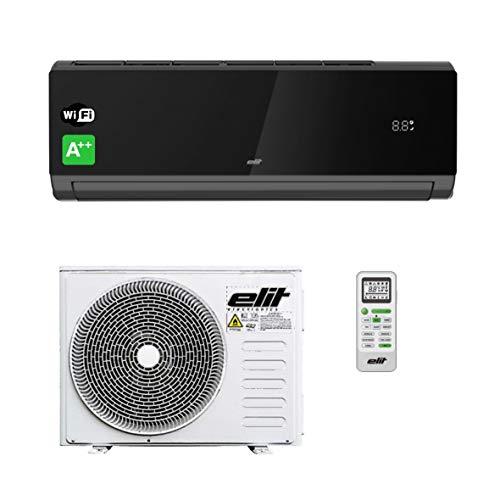INV-12RB Wi-Fi Condizionatore Climatizzatore Inverter Dual Split 12000 BTU · Aria Condizionata con Telecomando Incluso · R32 · Nero · [Classe di efficienza energetica A++]
