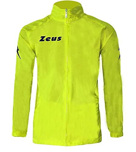 Zeus Rain Jacket, k-way, giallo fluo L