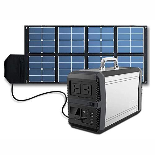 QXMR Générateur Solaire 1000w Générateur D'énergie Solaire Batterie Au Lithium Alimentation Groupe Électrogène Rechargeable 273000mah