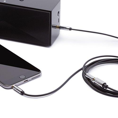 Amazonベーシックステレオオーディオ延長ケーブル3.5mm×7.6m