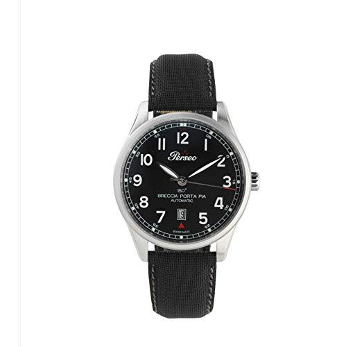 Perseo Swiss - Reloj de hombre automático con flecha de puerta pia,...