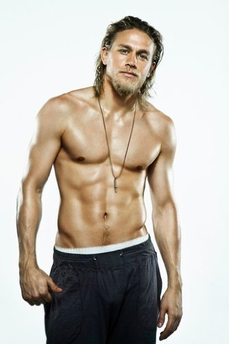 Sons of Anarchy Charlie Hunnam as Jackson'Jax' Teller Shirtless HOT 11 x 17 Poster/Litho