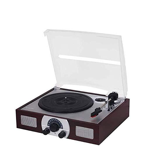 DJDLLZY Vinyl Record Player LP Retro Record Player Phonograph Multifunzione