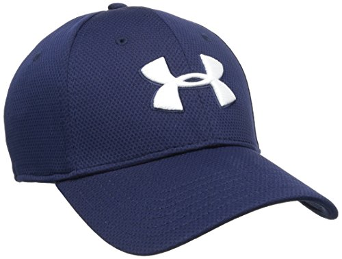 Under Armour Cap Blitzing II - Gorra de golf para hombre, color azul marino, talla M/L