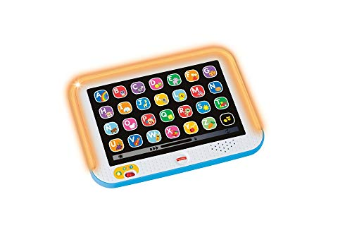 tablet bebe de la marca Fisher-Price - Ríe y Aprende