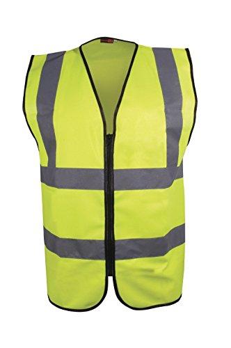 Blackrock, Executive-Warnweste für Herren mit langen Ärmeln, gelb, EN471,Klasse 2
