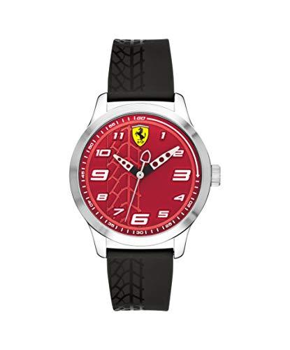 Scuderia Ferrari Orologio Analogico Quarzo Unisex Bambini con Cinturino in Silicone 840021