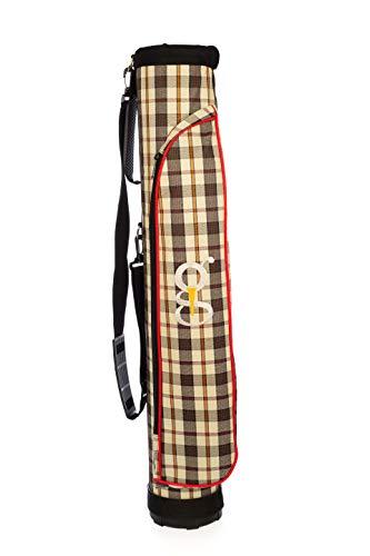 GolfJoy Range Bag, Sunday Course Bag - Yellow