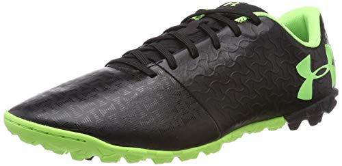 Under Armour Magnetico Select TF, Chaussures de Football Homme, Noir (Black/Black/Lime Light (002) 002), 42.5 EU