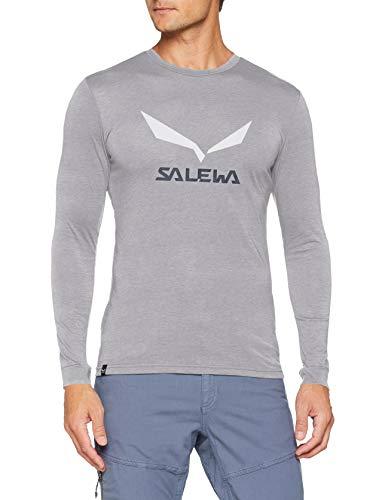 Salewa 00-0000027340_624 T-Shirt Homme Heather Grey FR: M (Taille Fabricant: 48/Medium)