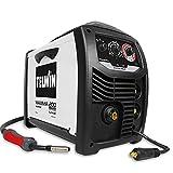 Telwin 816087 MAXIMA 200 SYNERGIC - Saldatrice inverter a filo, 230V, Nero/Bianco