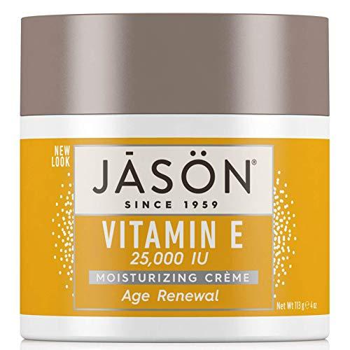 Jason Age Renewal Vitamin E 25,000 I.U. Moisturizing Creme, 120 ml Jars (Pack of 2)
