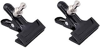 accessoires de studio Moniteur Take/® tk-vc1/Pince Clamp avec mini t/ête /à rotule et spigot pour Flash Spot LED