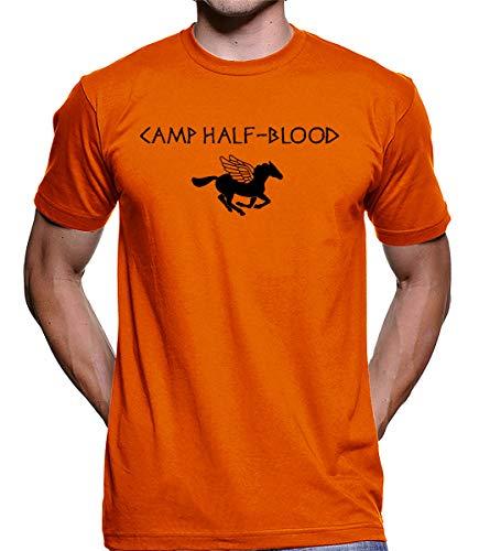 Camiseta Camp Half Blood Percy Jackson 100% Algodão 2371 (m)