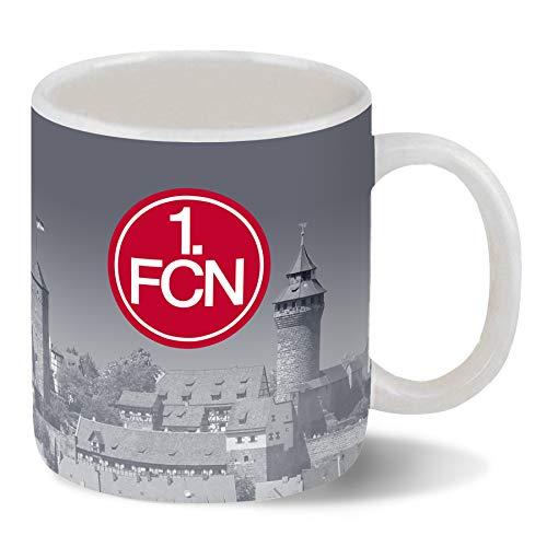 1.FC Nürnberg Kaffeetasse 320 ml - Tasse Panorama Nürnberg