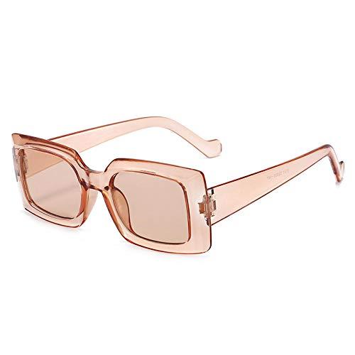 ZZZXX Gafas De Sol Hombre Encuadre La Moda Europea Y Americana Gafas De Piloto Con Estuche Y Paño De Limpieza, Para Ciclismo Pescar Y Conducir