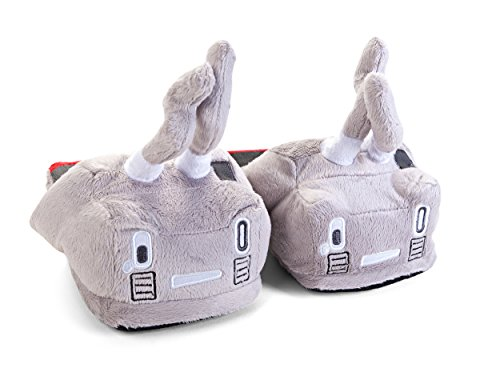 Kantai Collection Rensouhou-chan Battle Worn Ver. Plush Slipper Grey