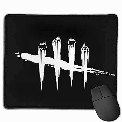 Mauspad mit genähtem Rand, Dead by Daylight Mauspad, rutschfeste Gummiunterseite, Mauspad für Laptop, Computer und PC