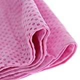 Instant Cooling Towel – Sports Yoga Beach Golf Travel Gym Swimming Camping Towel Sweat (Pink)