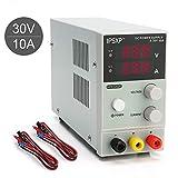 IPSXP Alimentatore da Laboratorio DC Regolabile Stabilizzato, Alimentatore da Banco 0-30V / 0-10A
