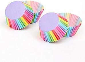 Ouinne Muffin vormpjes, 300 stuks, cupcake-wrapper mini muffins papieren vormpjes cupcakevormen bakken voor bruiloft verja...