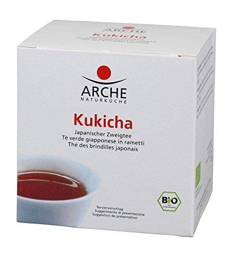 Arche Kukicha In Filtro, Confezione da 4 x 15 g