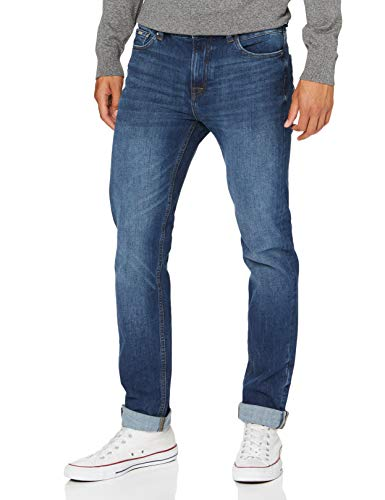 Springfield Jeans Zg Bi-stretch Slim Medio Osc-c/11 Pantaloni, Blu (Dark_Blue 175737711), 40 (Taglia Unica: 26) Uomo