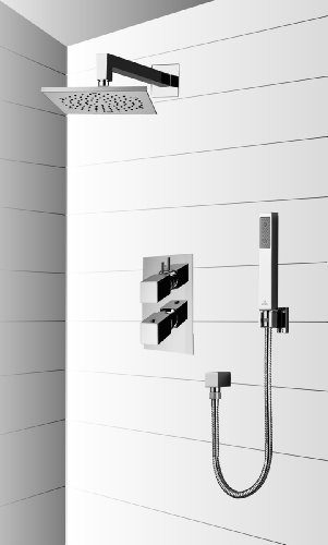 Bossini M00409030 - Kit de ducha empotrado